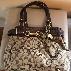 Authentic Brown Coach bag